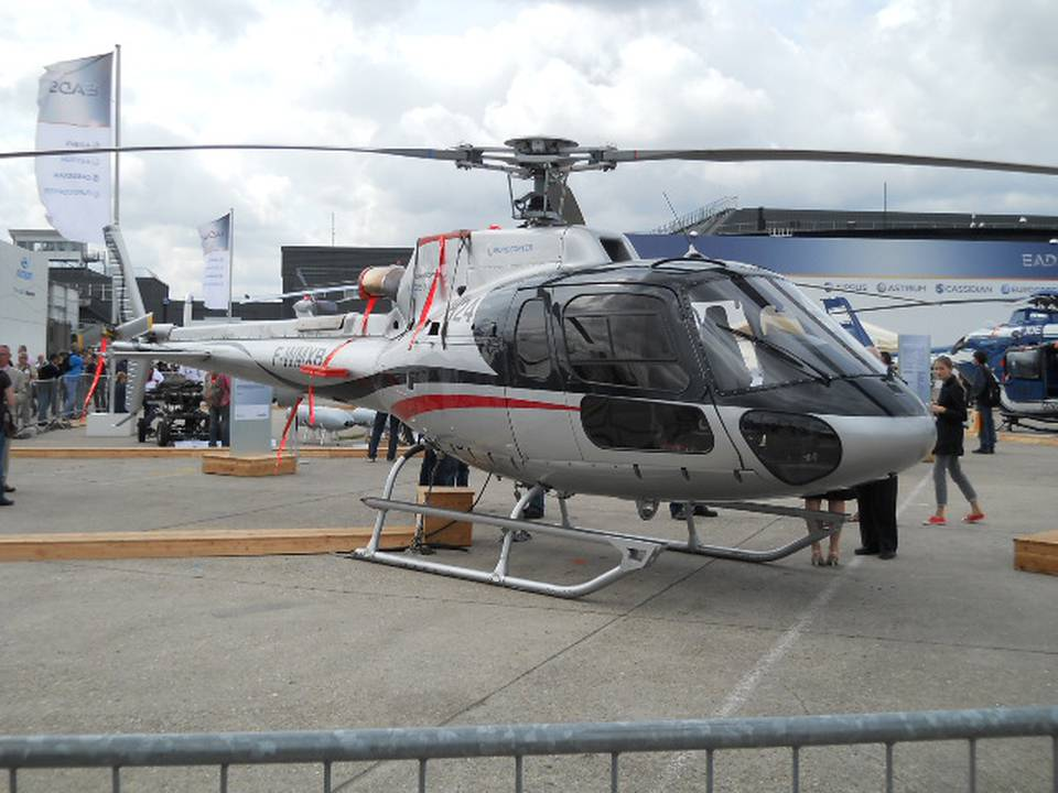 Salon du Bourget 2011 1 : AS 350