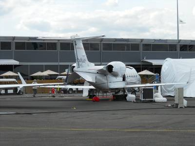 Salon du Bourget 2011 1 : Learjet 60