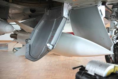 """Clin d'Ailes"", Musée de l'Aviation militaire de Payerne 1 : Missile AS-30"