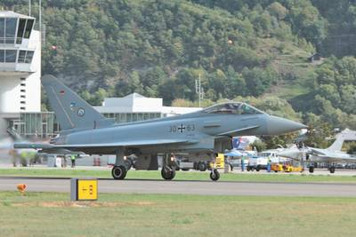 Breitling Air Show Sion 2017 1 : Eurofighter Typhoon
