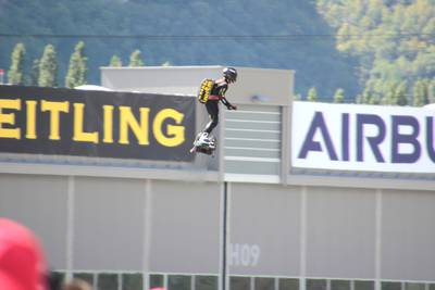 Breitling Air Show Sion 2017 1 : Zapata Racing team, Flyboard