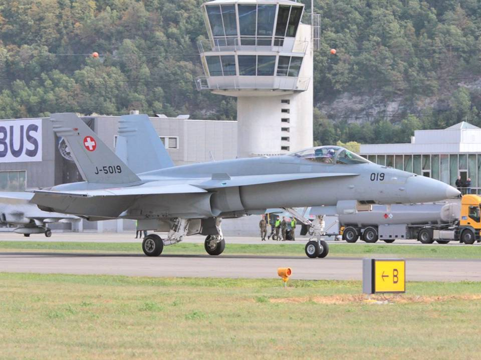 Breitling Air Show Sion 2017 1 : F/A-18C Hornet