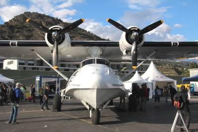 "Breitling Air Show Sion 2017 1 : Consolidated PBY-5A ""Catalina"""