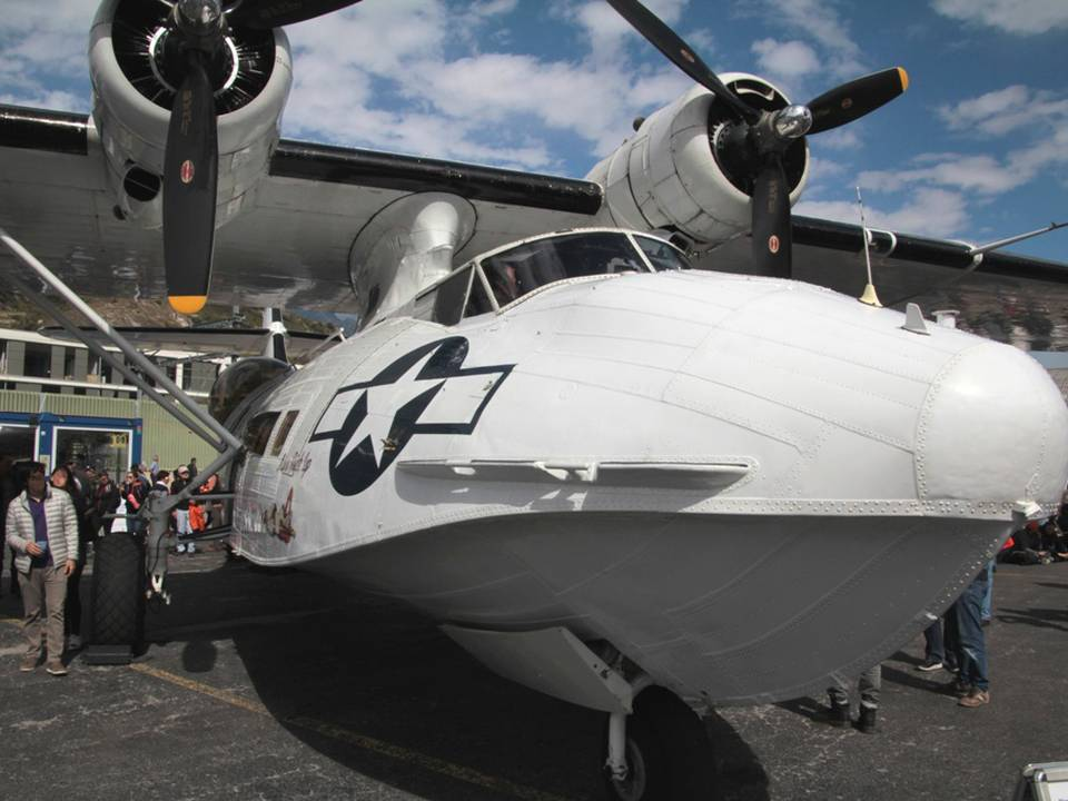 "Breitling Air Show Sion 2017 1 : Consolidated PBY-5A ""Catalina"" 2"