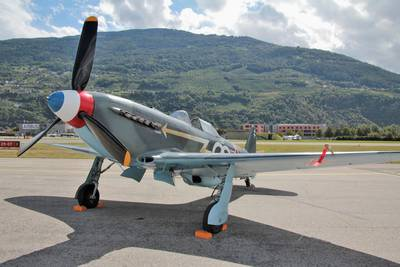 Breitling Air Show Sion 2017 1 : Yakovlev Yak-3