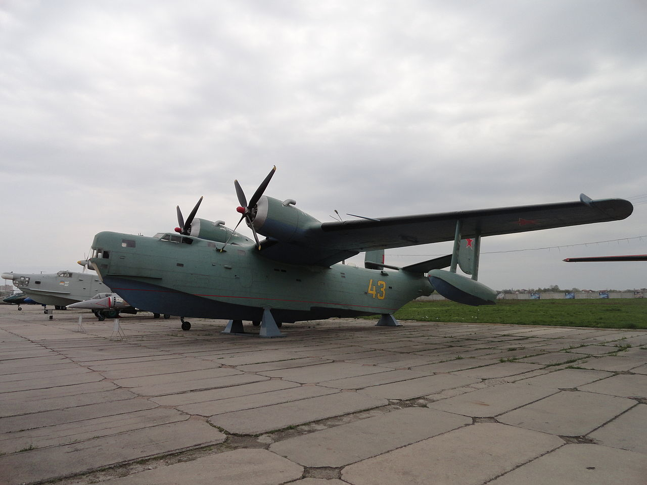 Beriev Be-6 Madge exposé en Ukraine