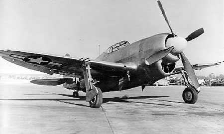 Republic P-47 Thunderbolt (XP-47J)