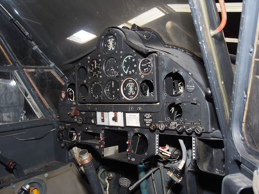Nord 3400 Norbarbe - Cockpit