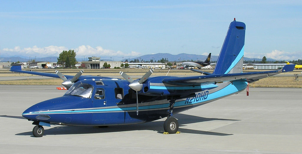 Aero Commander 500S civil