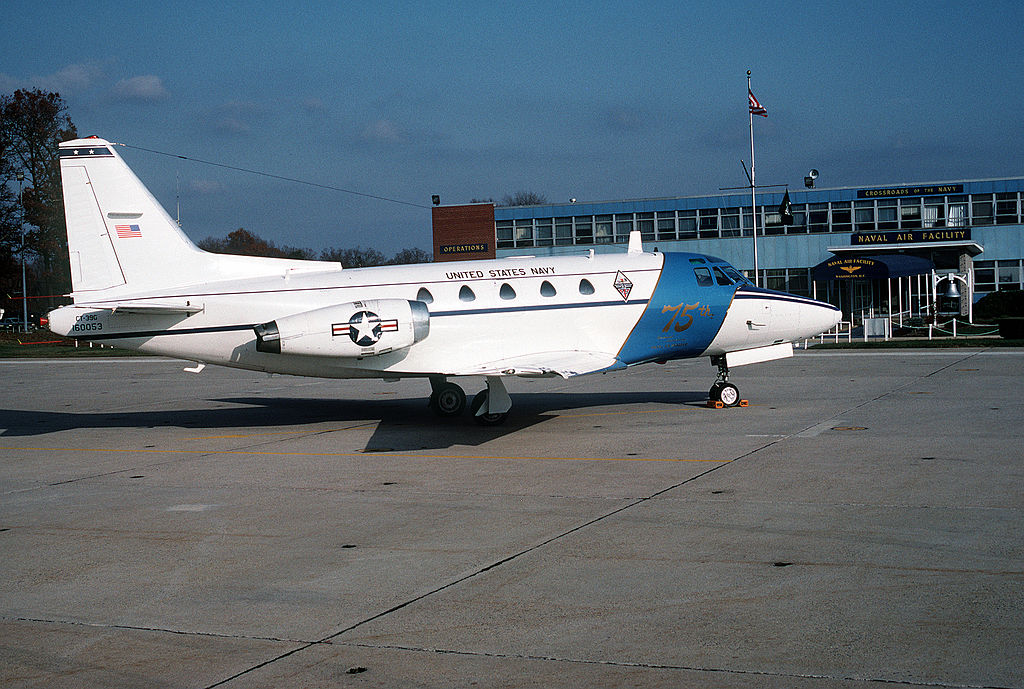 North American Sabreliner (CT-39G) de l'US Navy