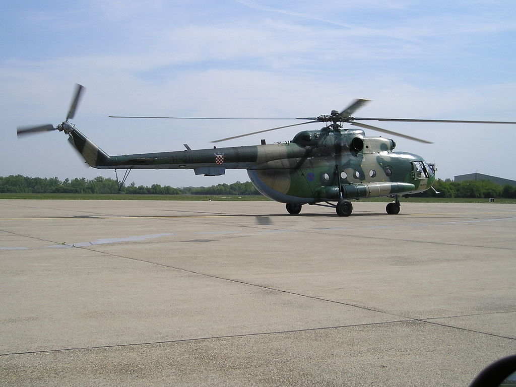Mil Mi-8MTV croate