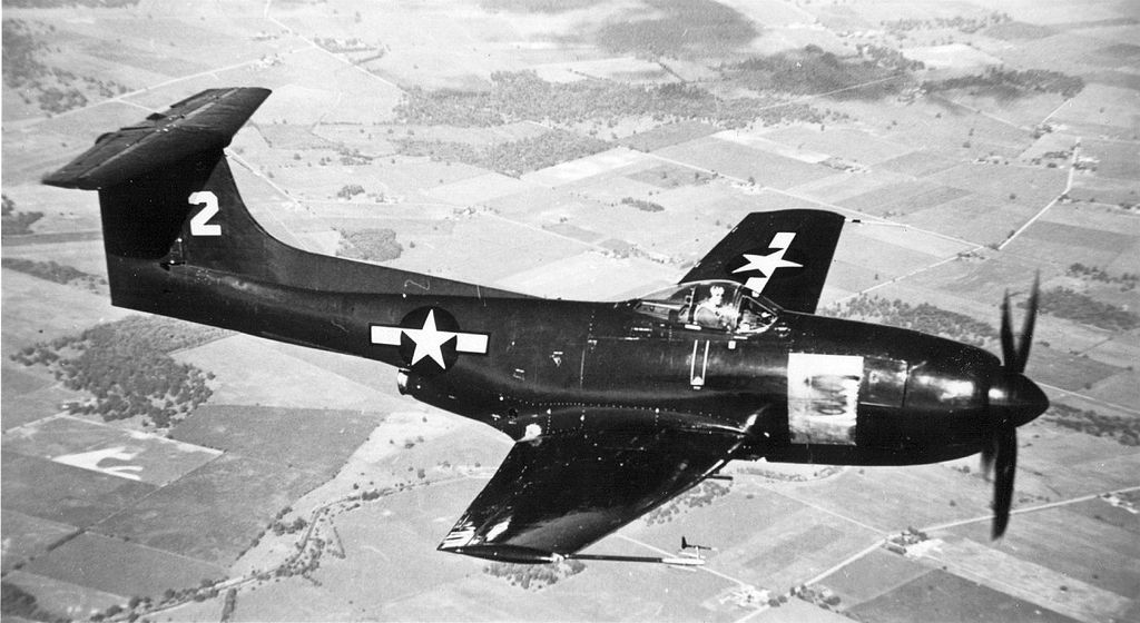 Curtiss XF15C-1 en vol