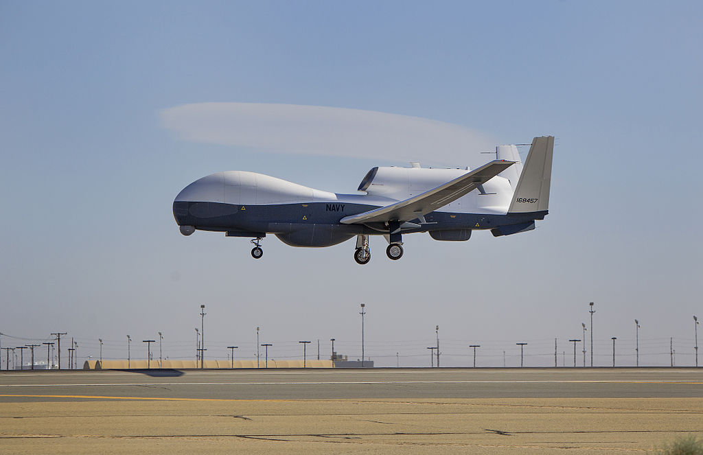 Northrop-Grumman Q-4 Global Hawk (MQ-4C) de l'US Navy