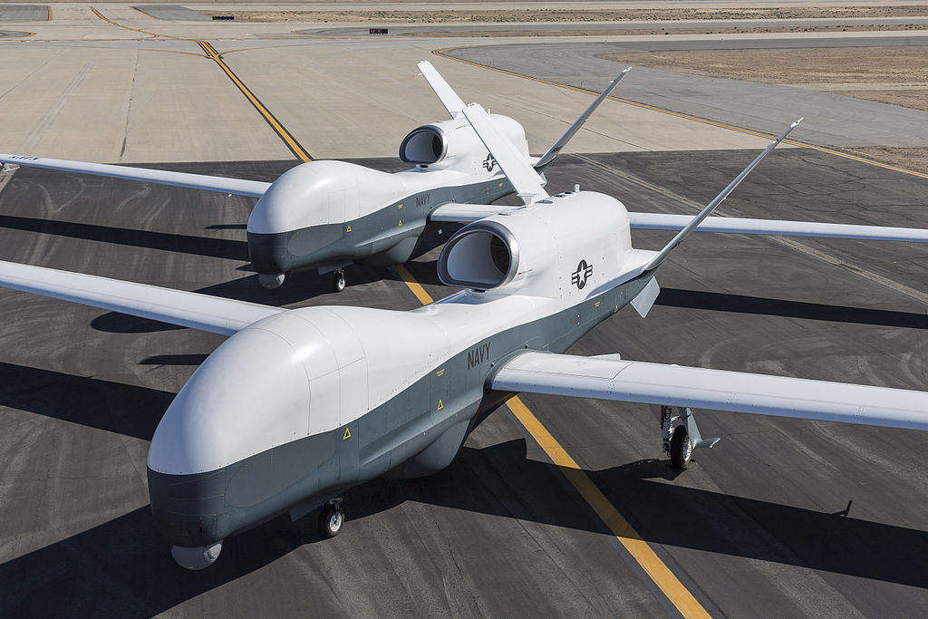 Northrop-Grumman Q-4 Global Hawk (MQ-4C) au sol