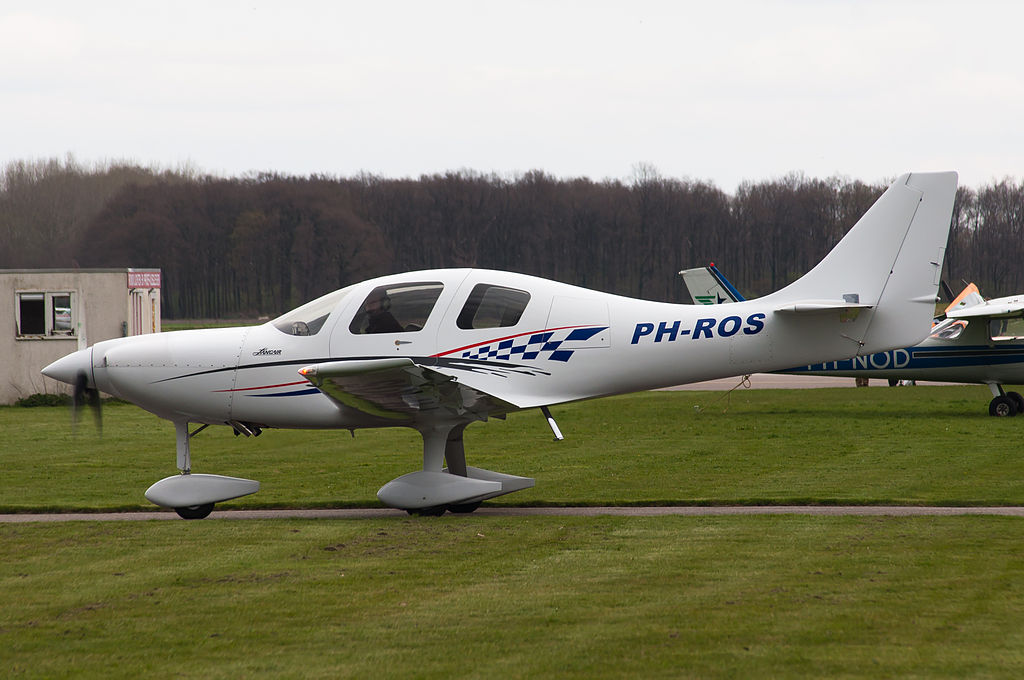 Lancair ES civil vu de profil