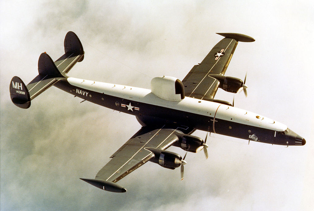 Lockheed EC-121 Warning Star (WC-121N) de l'US Navy