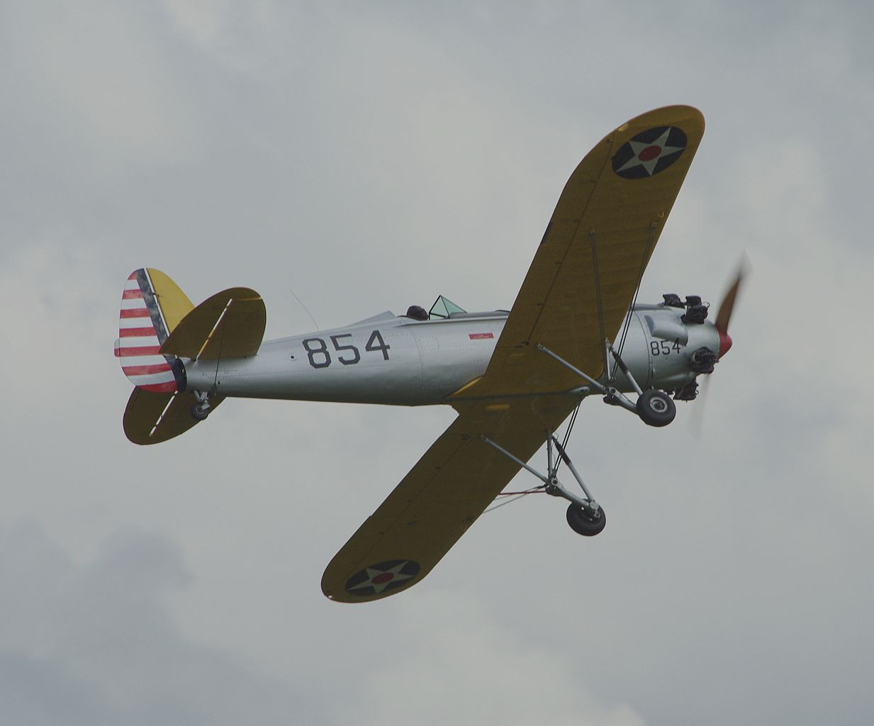 Ryan ST (PT-22 Recruit) aux couleurs de l'USAAC