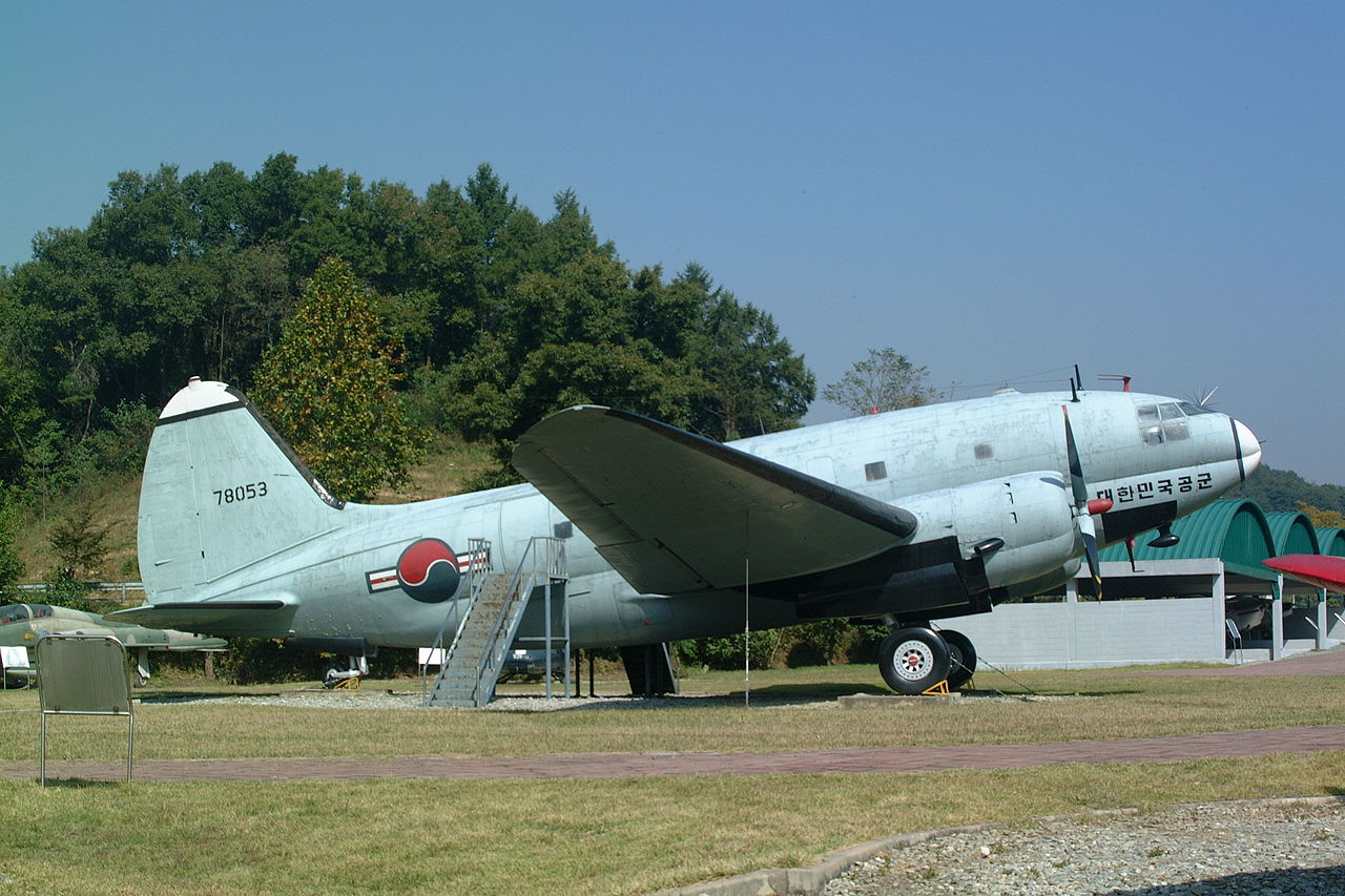 Curtiss C-46D Commando sud-coréen