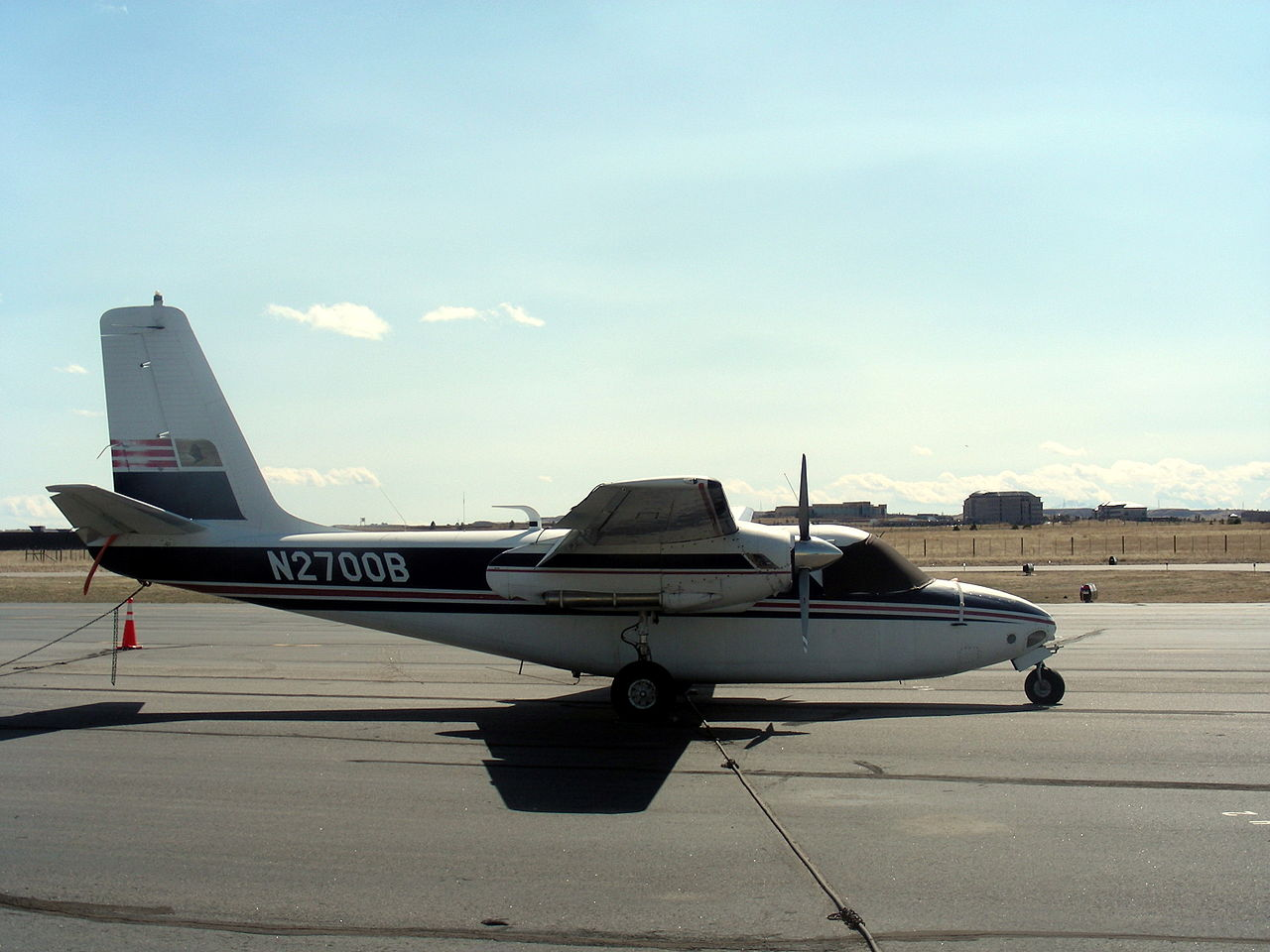 Aero Commander 560 civil