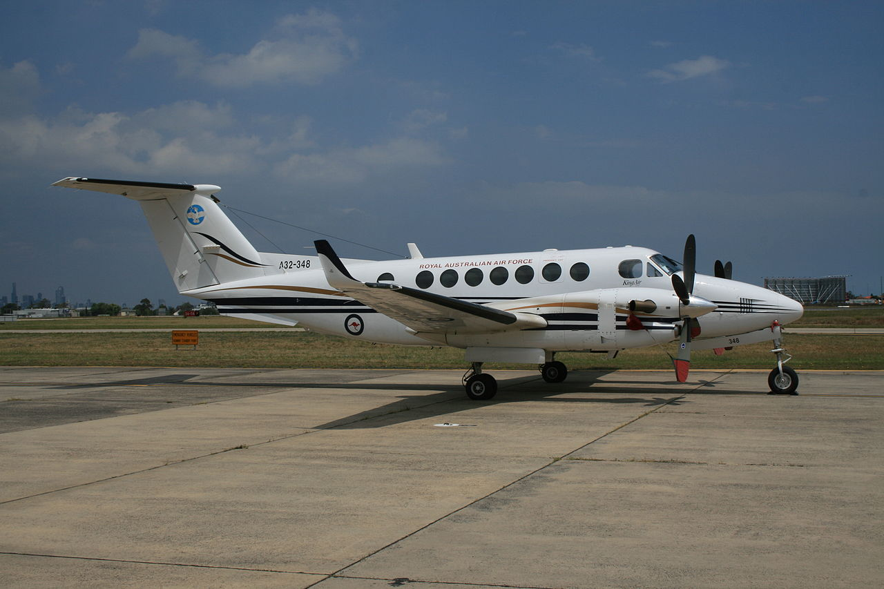 Beech King Air 350 australien