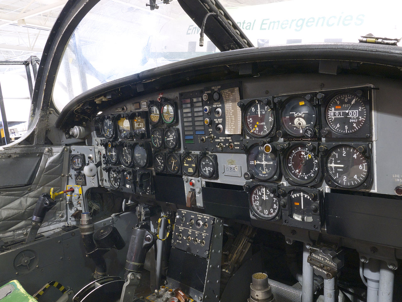 Canadair CL-41 Tutor (CT-114) - Cockpit