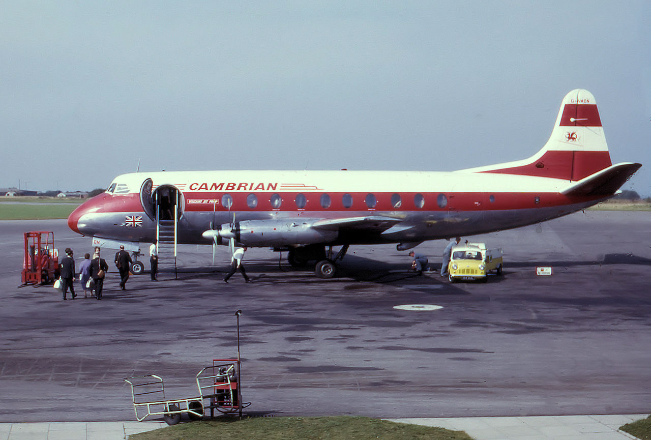 Vickers 630 Viscount (Type 700)