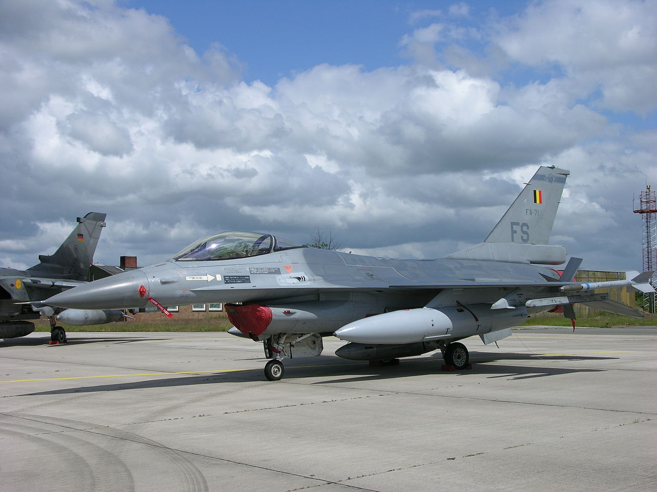 Lockheed-Martin F-16AM belge