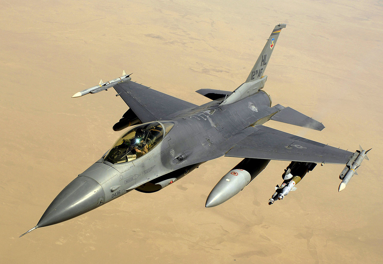 General Dynamics F-16C Block 40 Night Falcon de l'USAF