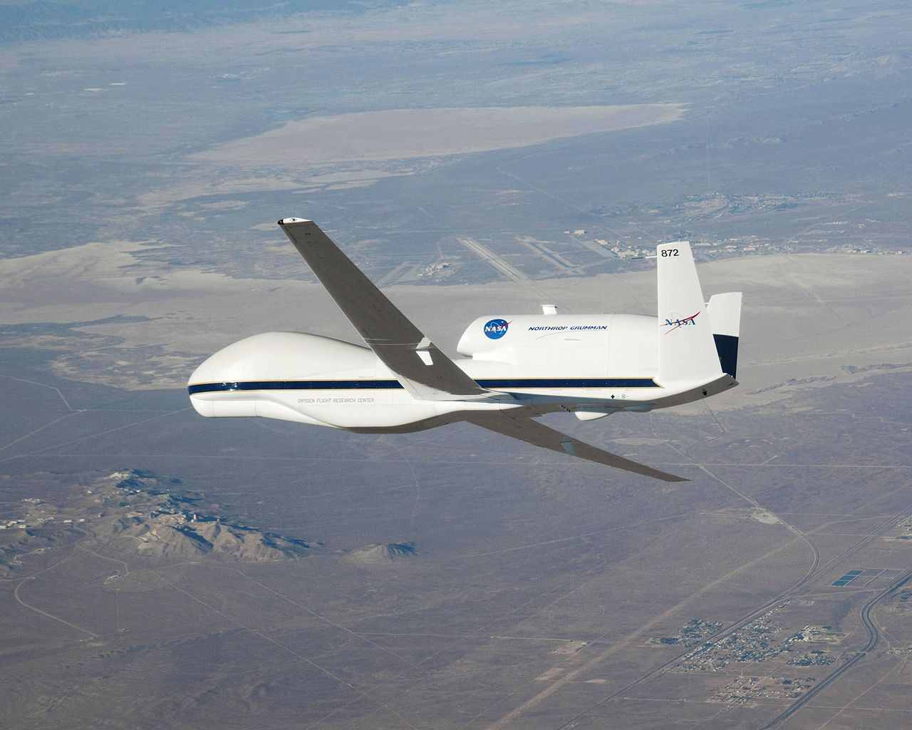 Northrop-Grumman Q-4 Global Hawk de la NASA en vol