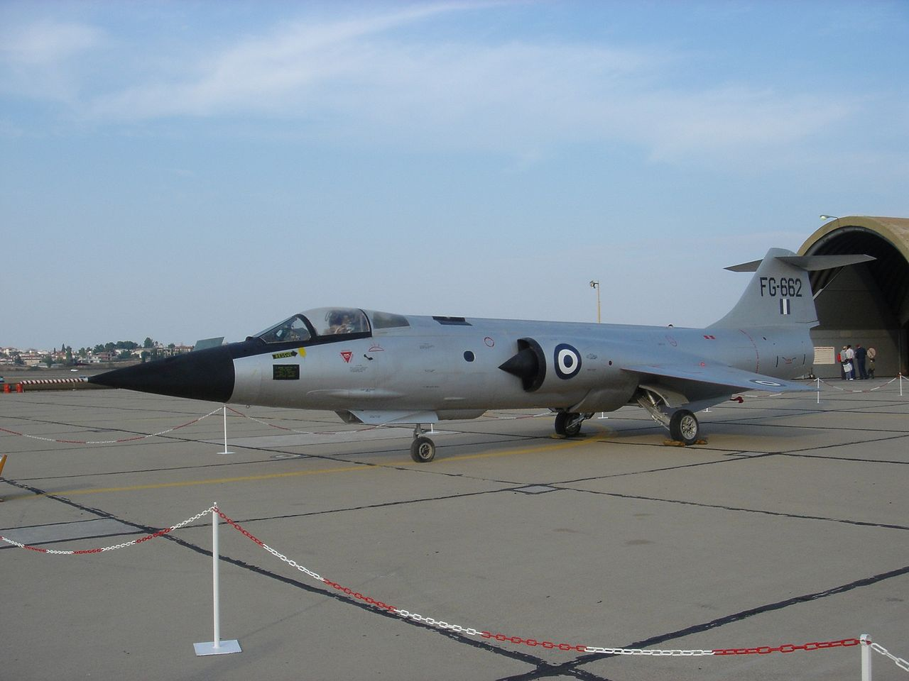 Lockheed F-104G Starfighter grec