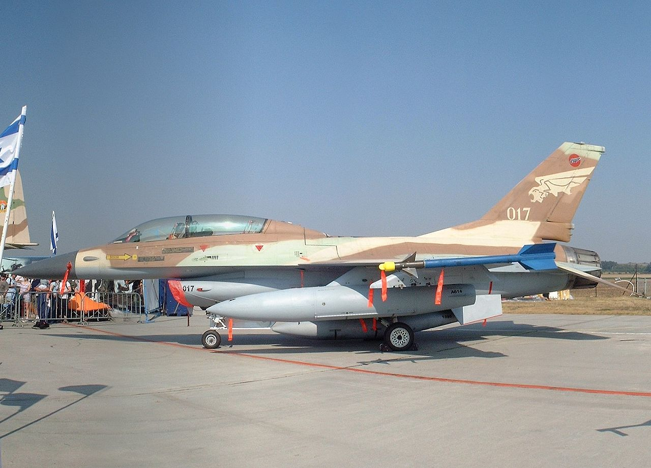 General Dynamics F-16B israélien