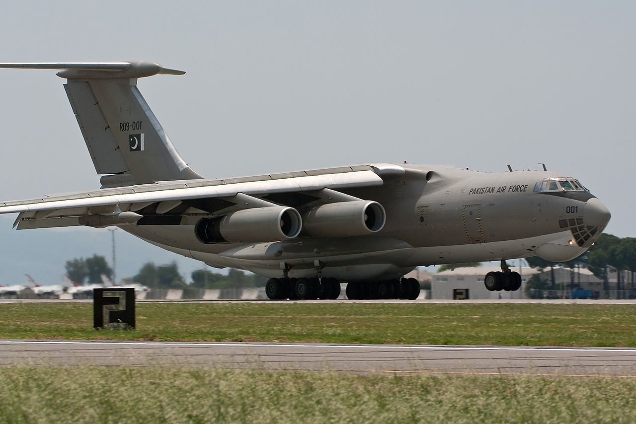 Iliouchine Il-78MP pakistanais au décollage