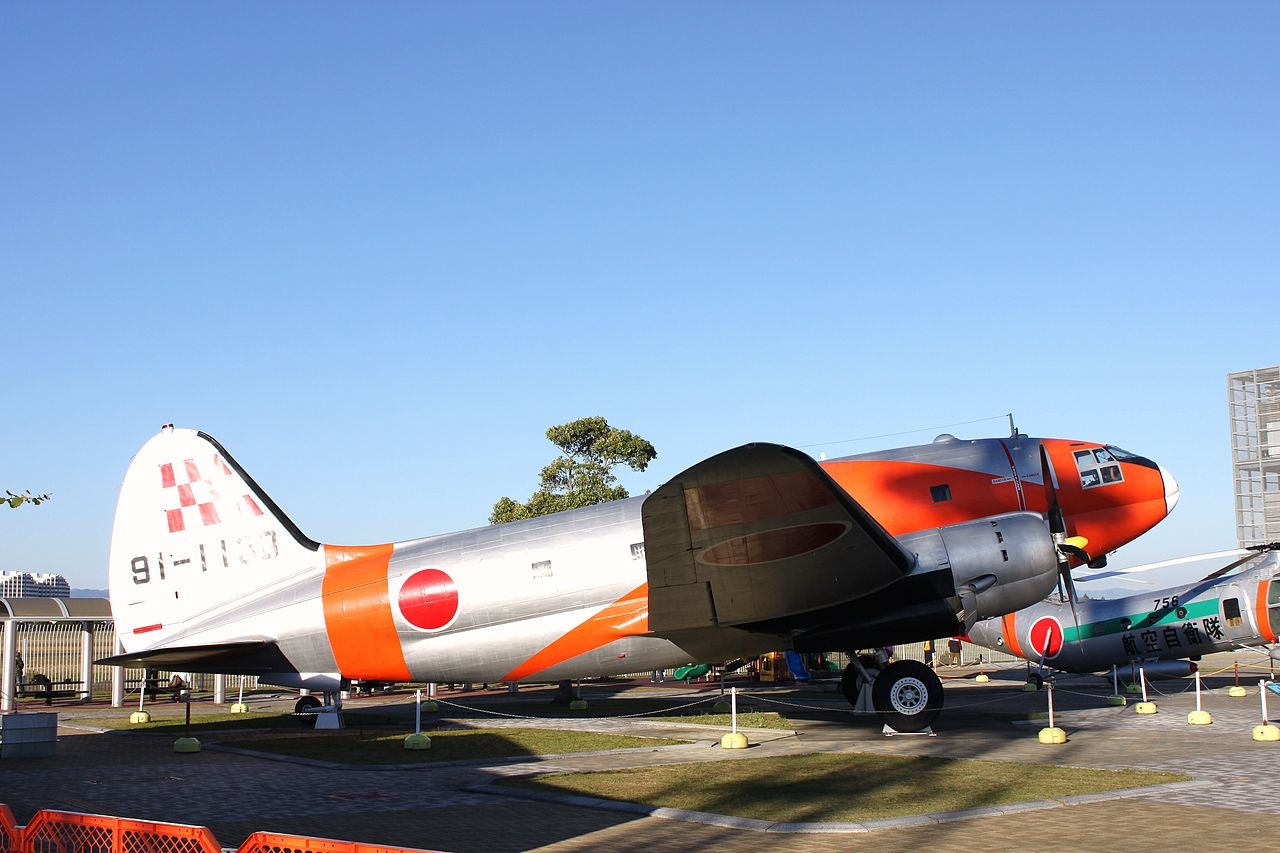 Curtiss C-46A Commando japonais