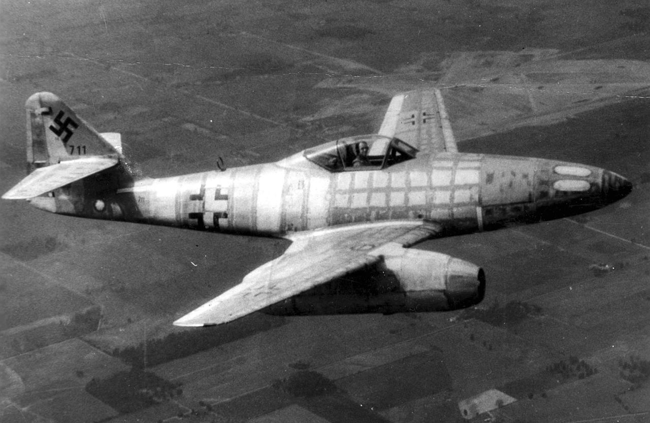 Messerschmitt Me 262A en vol