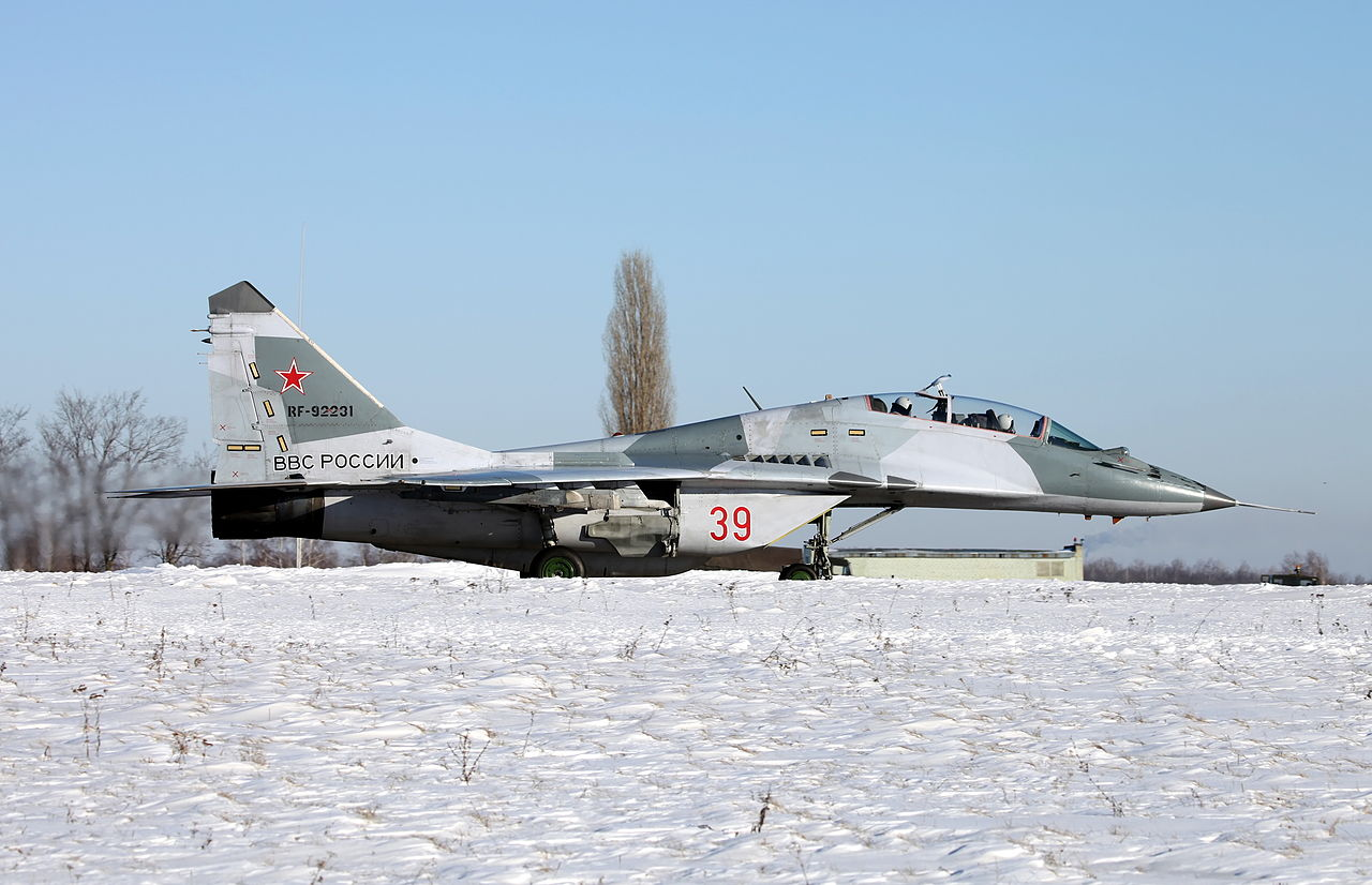Mikoyan-Gourevitch MiG-29UB russe