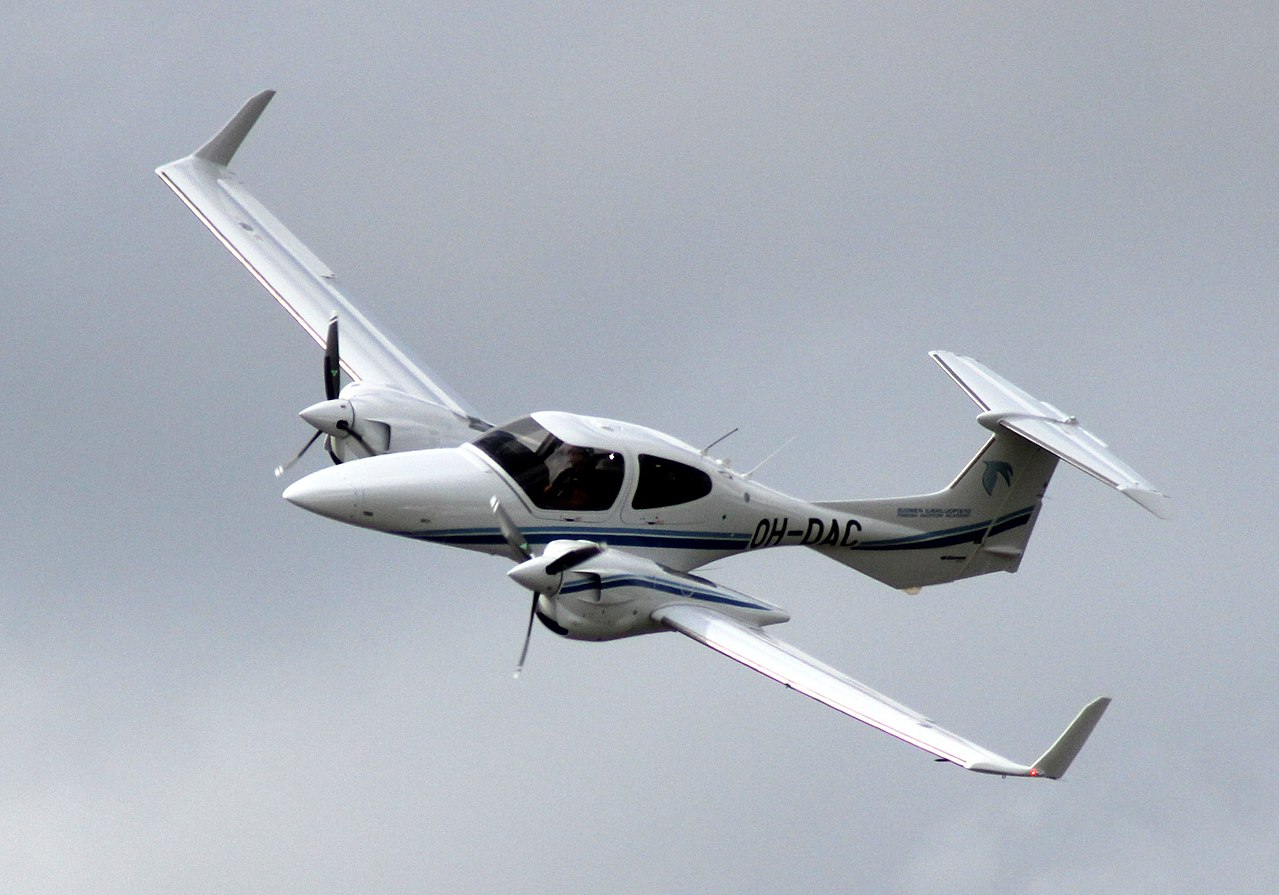 Diamond DA42 Twin Star en vol