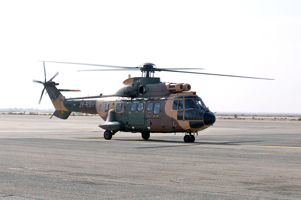 Aérospatiale AS332 M1 Super Puma jordanien