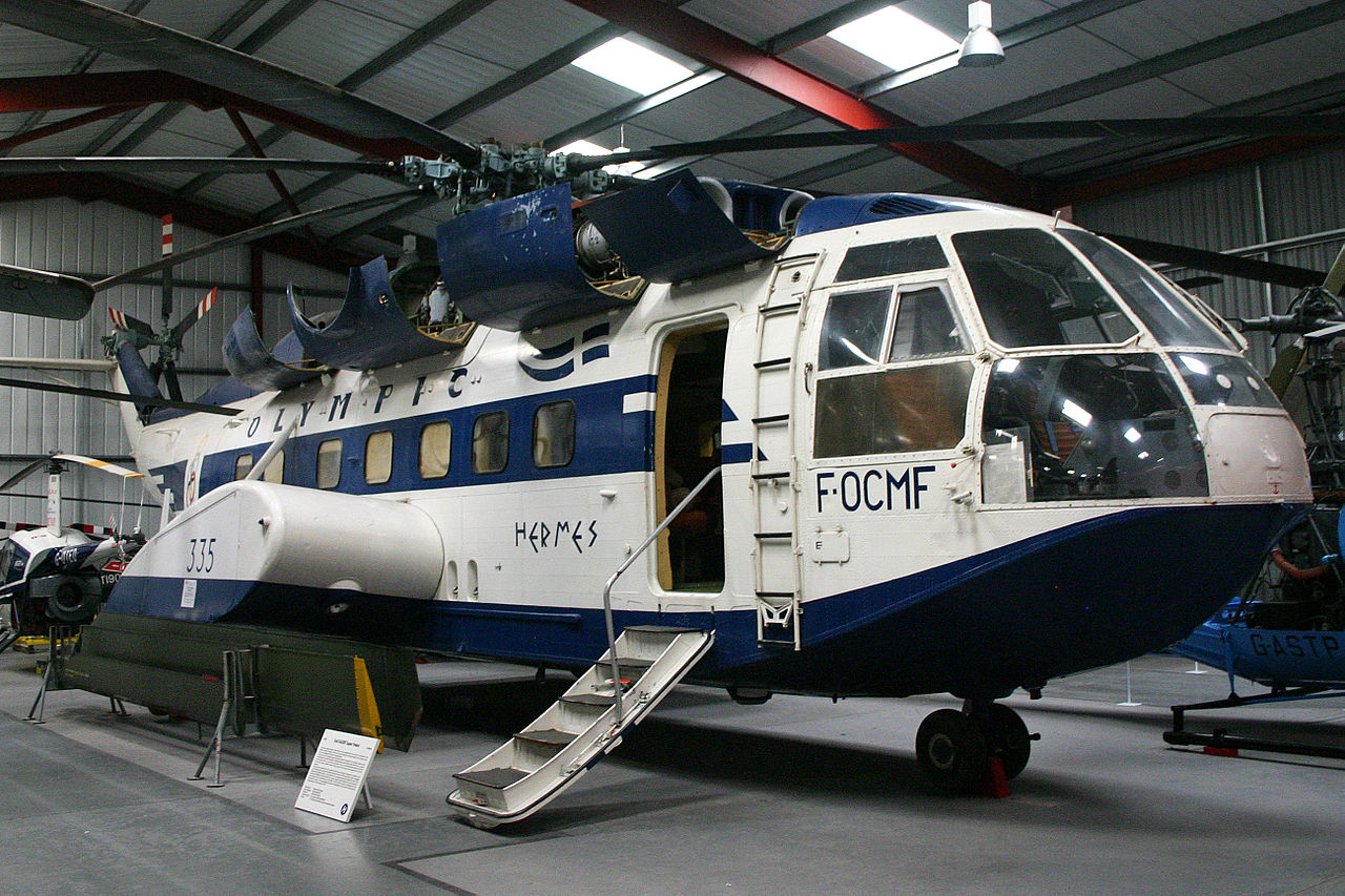 Sud-Aviation SA 321F Super Frelon civil