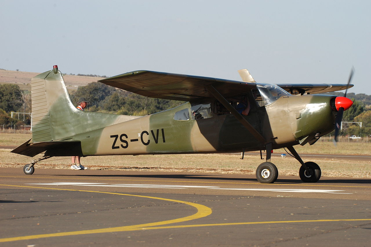 Cessna 185A Skywagon de collection