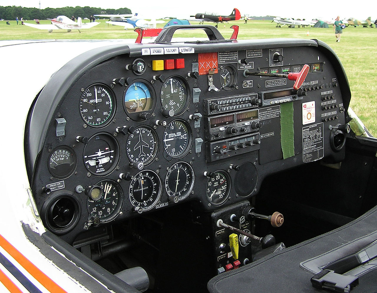 Slingsby T67C Firefly - Cockpit