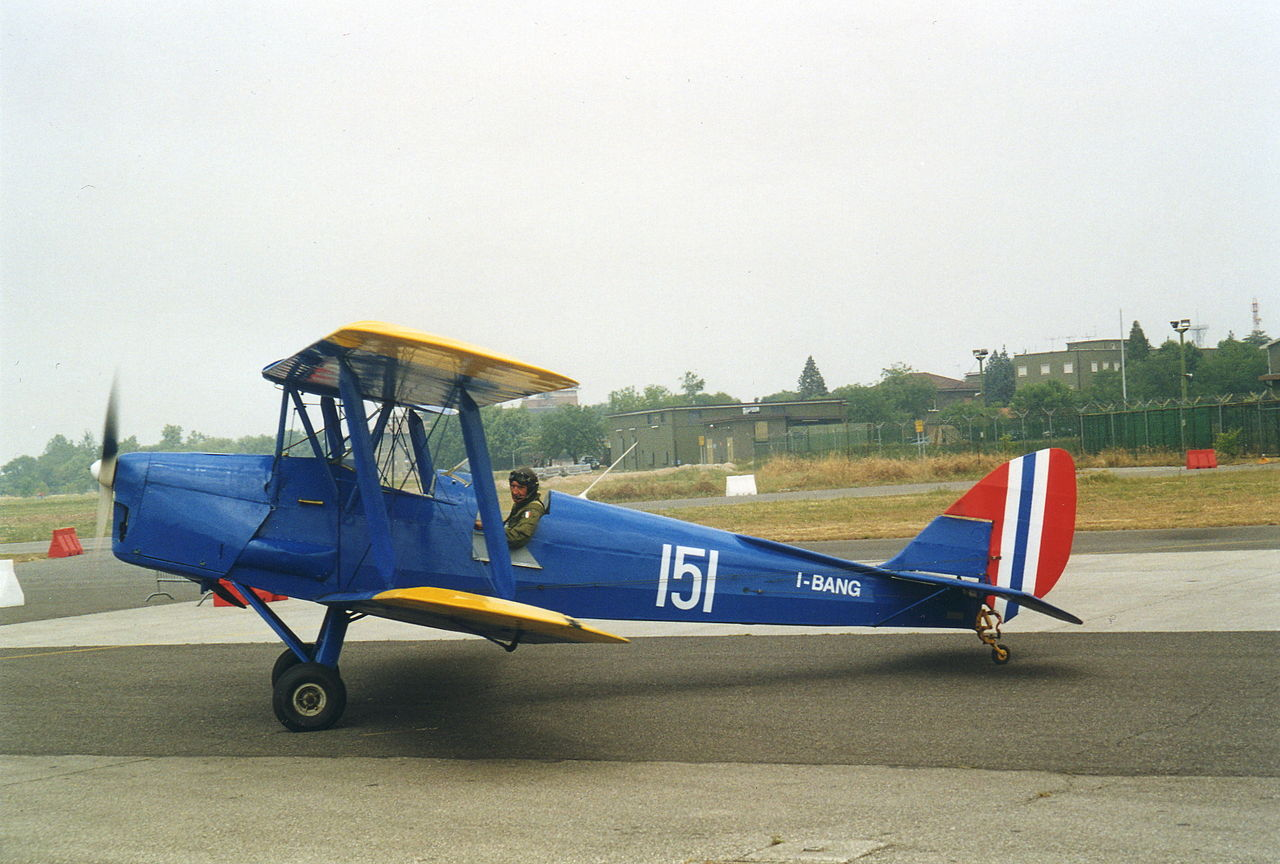 De Havilland DH-82A Tiger Moth norvégien