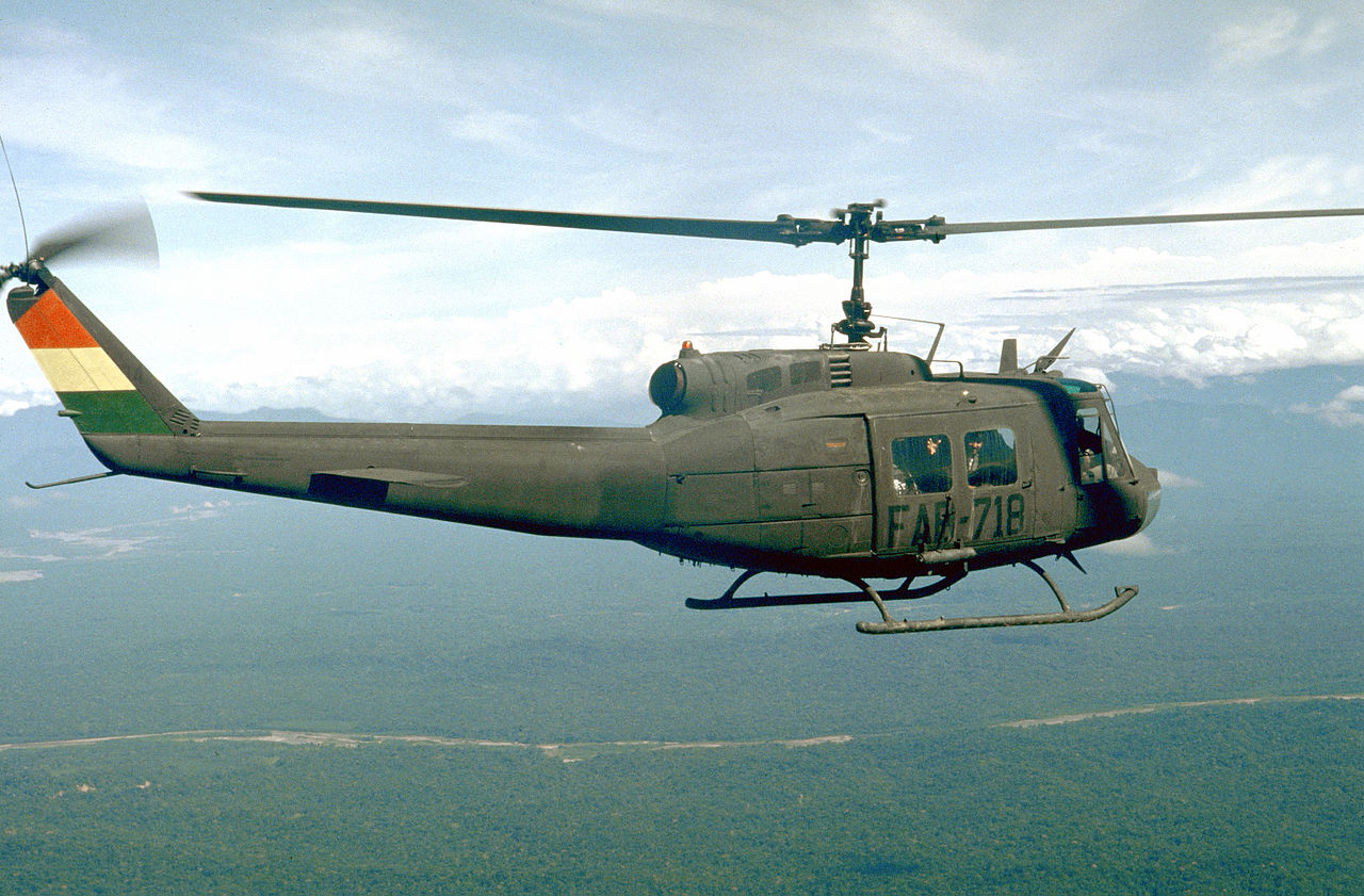 Bell UH-1H Huey bolivien