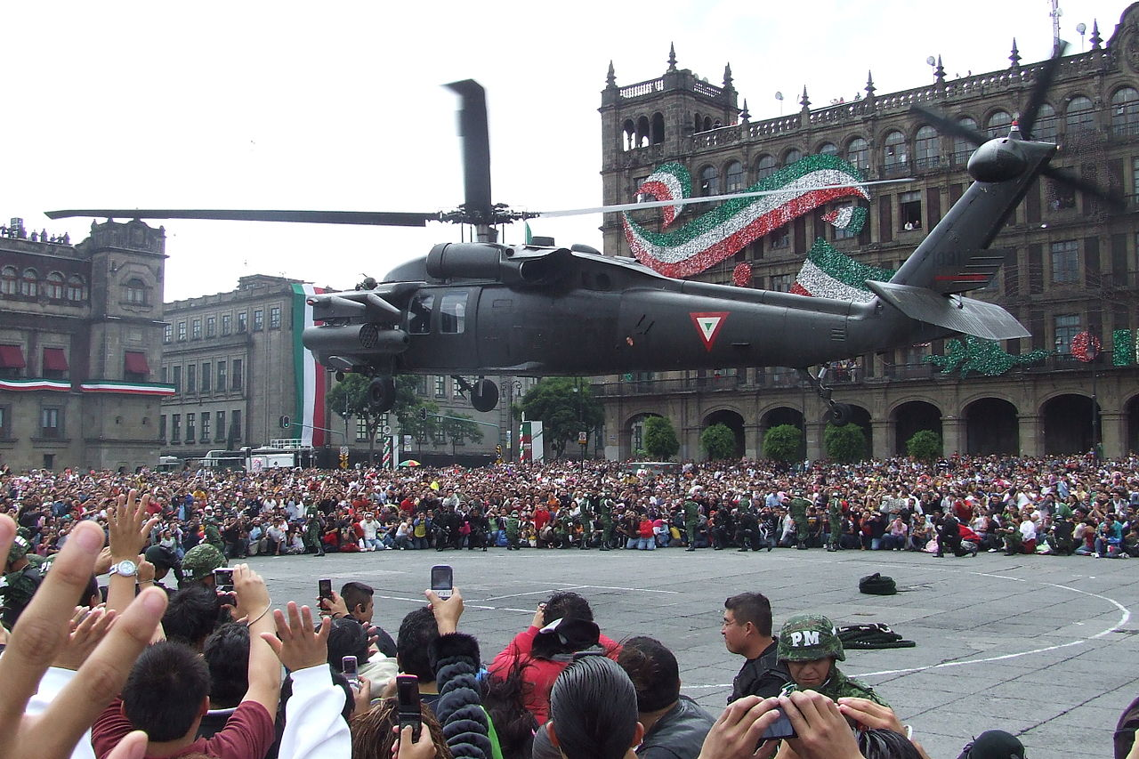 Sikorsky H-60 Black Hawk (S-70A) mexicain
