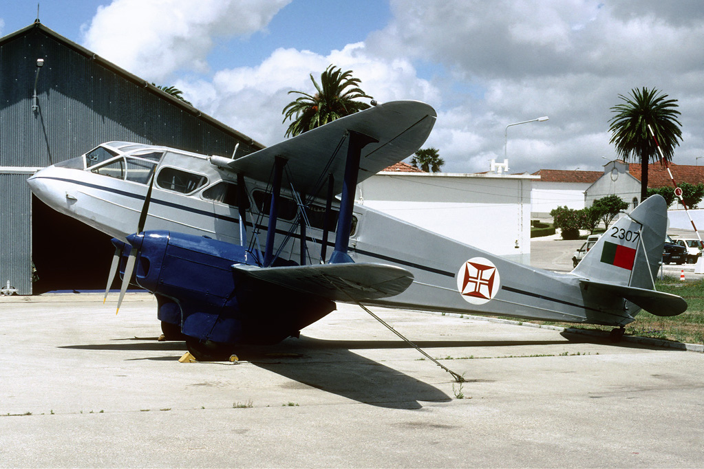 De Havilland DH-89A Dragon Rapide portugais