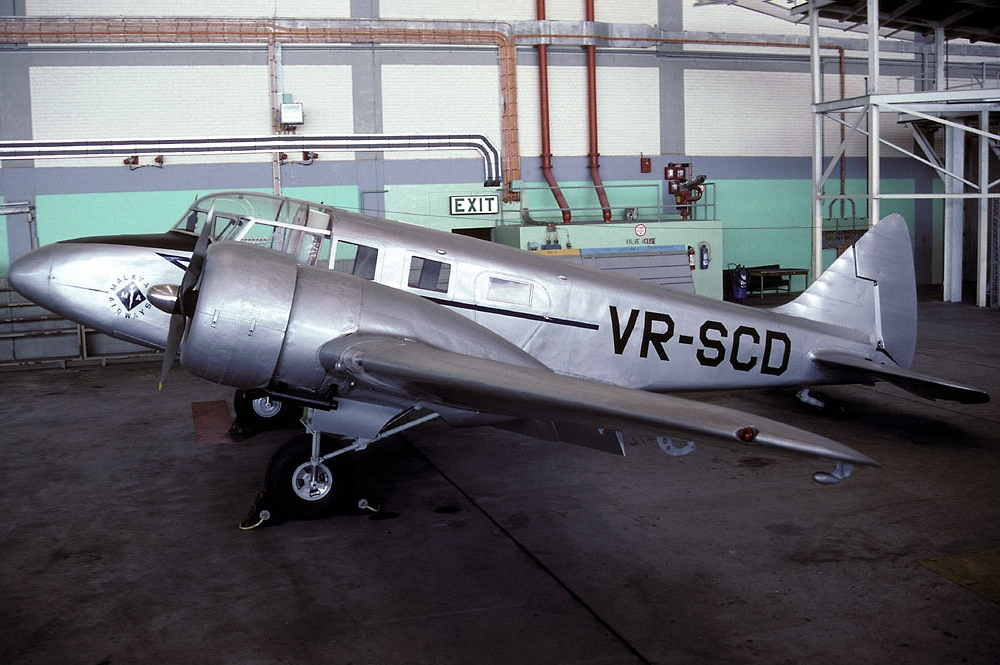 Airspeed AS.10 Oxford (AS.65 Consul)