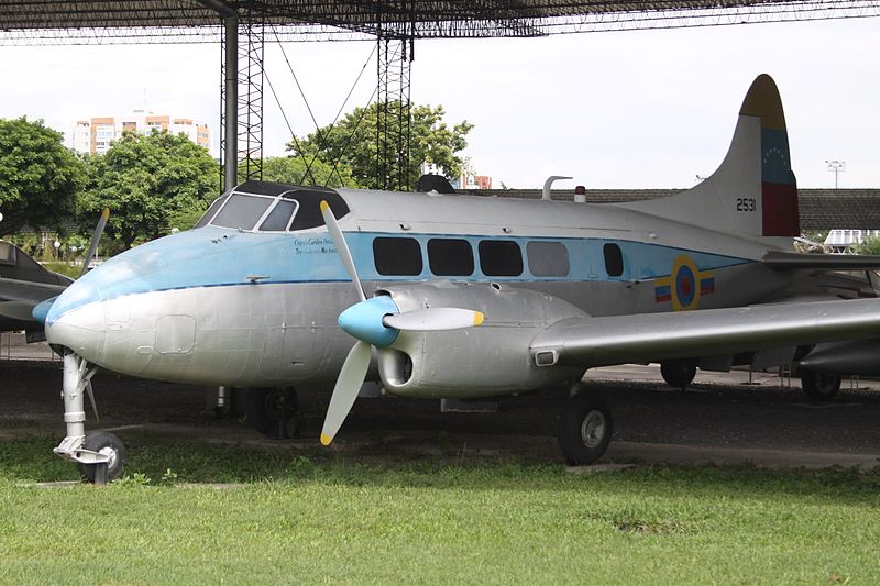 De Havilland DH-104 Dove 2A venezuelien