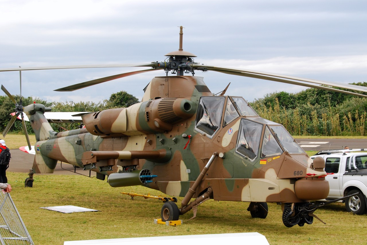 Denel AH-2 Rooivalk en exposition