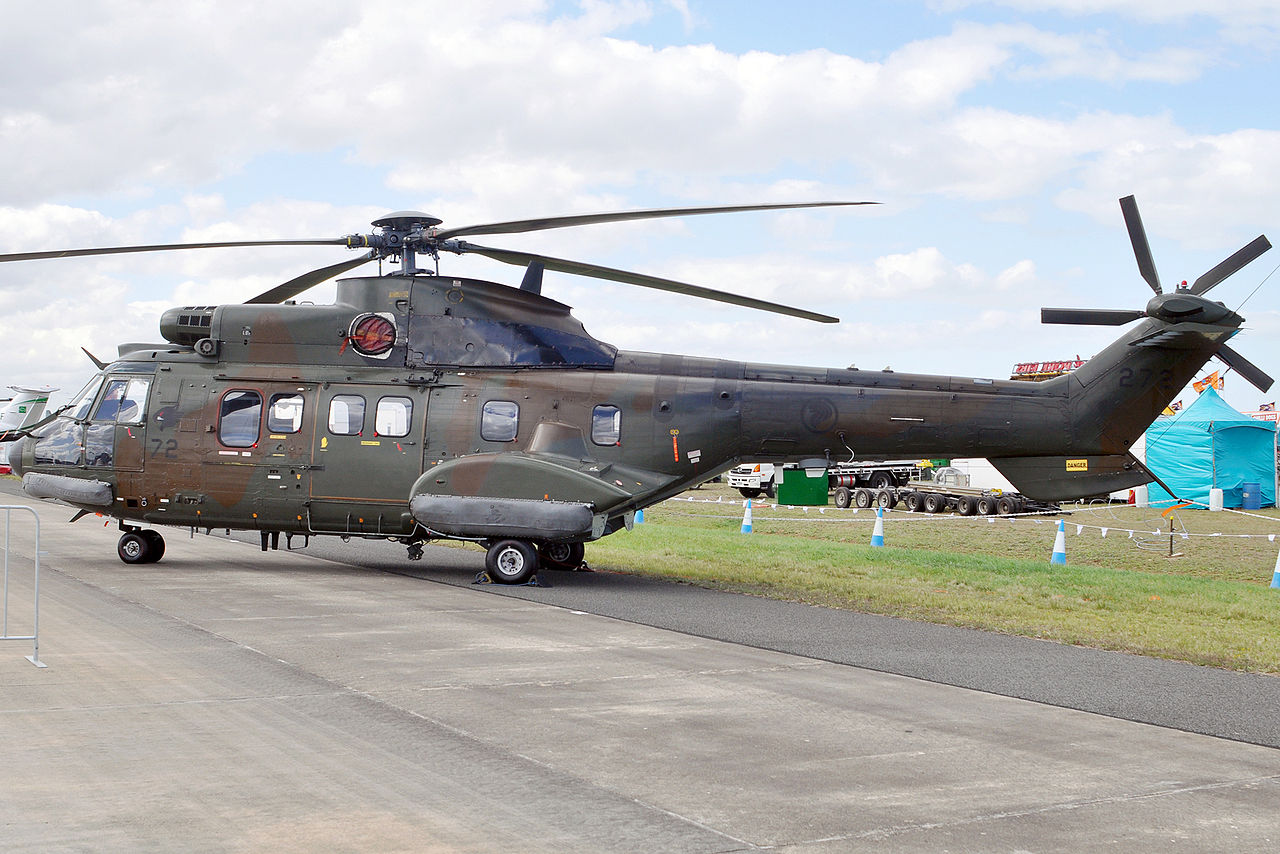 Aérospatiale AS532 UL Cougar singapourien