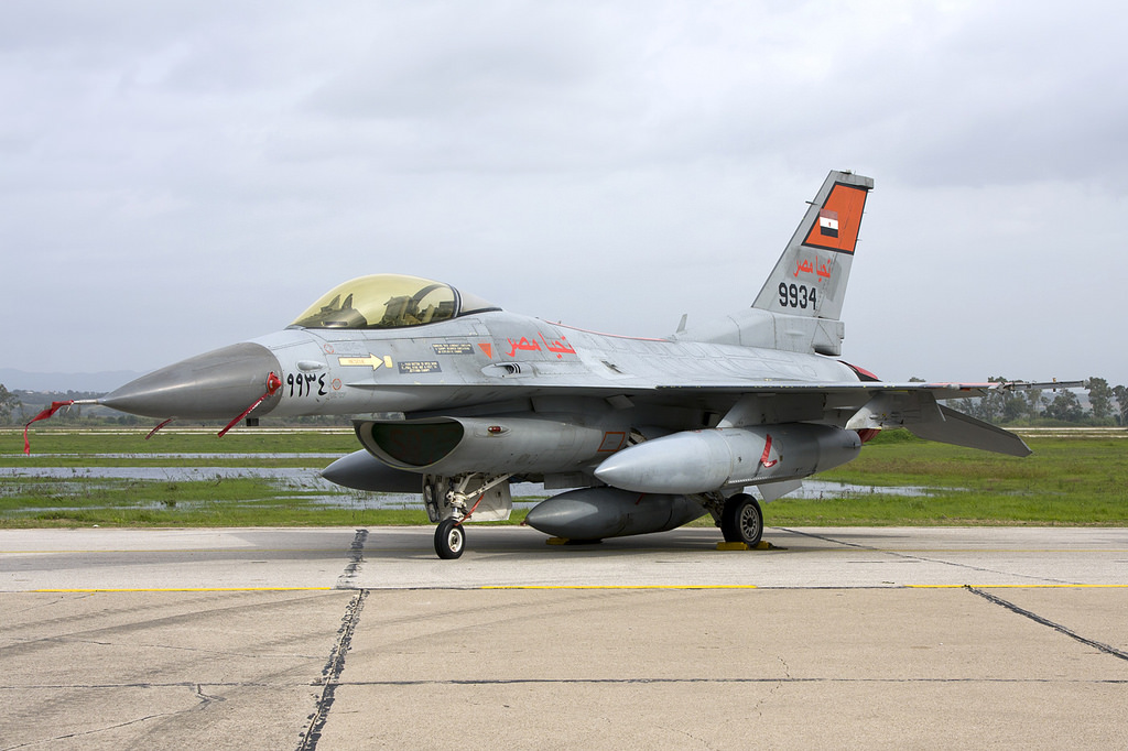 General Dynamics F-16C Fighting Falcon égyptien
