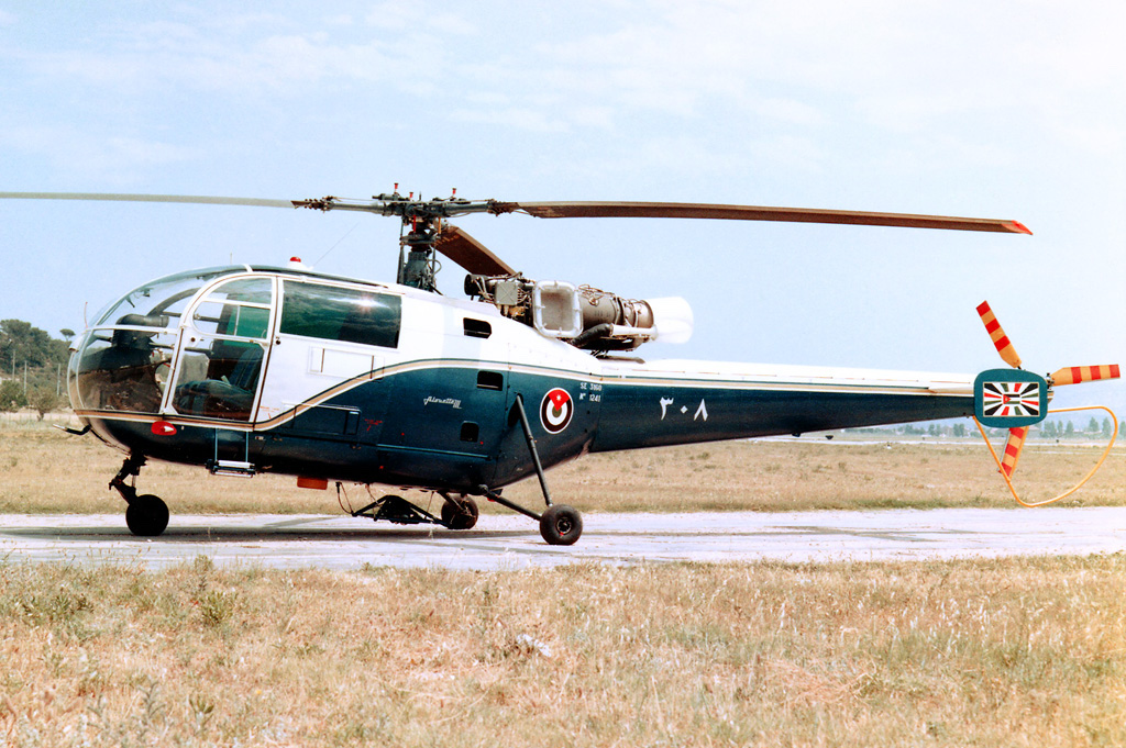 Sud-Aviation SA 316A Alouette III jordanienne
